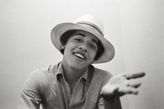 """In 1980, when Obama was known as """"Barry"""", a freshman at Occidental College in Los Angeles, he was approached by an aspiring photographer nam..."""