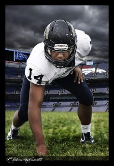 High School Football portraits in Colorado