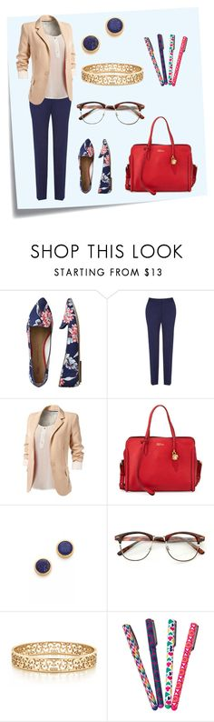 """Teacher- Job Outfit"" by elise-22 ❤ liked on Polyvore featuring Post-It, Gap, Minuet, Alexander McQueen, Dean Davidson, Tiffany & Co. and Jonathan Adler"