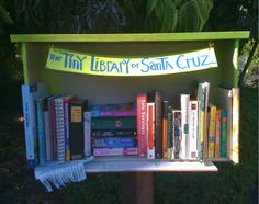 Look what just popped up on a residential street corner! Could we encourage kids to open their own neighborhood book exchanges? Little Free Libraries, Free Library, Middle School, Literacy, The Neighbourhood, Encouragement, Corner, Community, Teaching