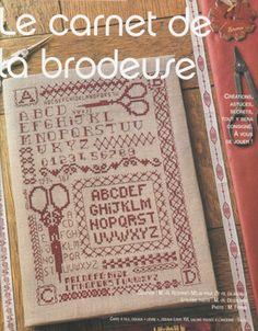 LE CARNET DE LA BRODEUSE - Belen txu - Álbumes web de Picasa