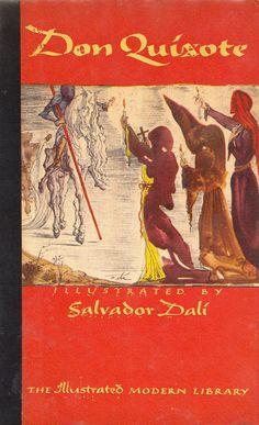 Salvador Dalí Illustrates Don Quixote The art of fighting surrealist windmills.