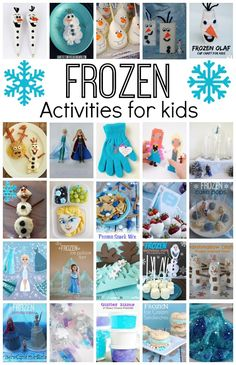 WOW! This collection of Disney Frozen ideas is awesome. Everything you will ever need for your Frozen fan: crafts, recipes, party ideas, play activities AND MORE | Disney Crafts for Kids