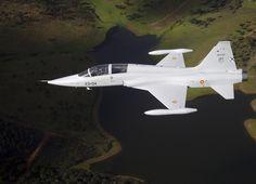 F-5M, 23rd Wing, Talavera la Real Air Base, Badajoz, Spanish Air Force weapons school.