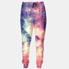 Painting the universe Awsome Space Art Design Sweatpants, Live Heroes