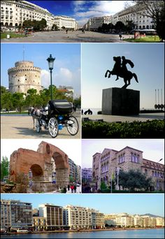 The second largest city in Greece. A port on the Mediterranean Sea. A city with amazing history. I love this city! Places Around The World, The Places Youll Go, Places To See, Greece Tours, Greece Travel, Macedonia Greece, Greek History, Thessaloniki, Greek Islands