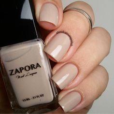 Zapora nail polish in Desert Me Neutral Nail Color, Nail Colors, Toe Nail Designs, Wedding Nails, Toe Nails, Insta Makeup, Makeup Junkie, Deserts, Nail Polish