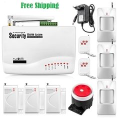 New Dual-antenna GSM security systems for home protection auto dial sensor detector Burglar intruder alarm DIY Wireless Security System, Best Home Security System, Home Security Tips, Security Solutions, Security Alarm, Intruder Alarm, Home Protection, Home Safety, Alarm System