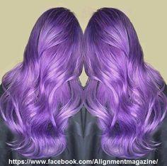 Purple Hair Goals