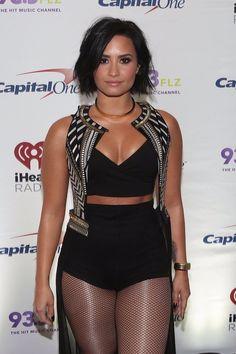 Demi Lovato at #FLZJingleBall in Florida - December 19th