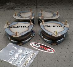 "SUMO F1R1 200I Series 2"" Lift Kit (Economy Version)"