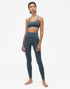High Seamless Leggings Pigeon - Filippa K