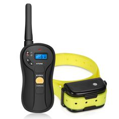 FOCUSPET Remote Dog Training Collar, Electric Dog Training Shock Collar with Remote 655 yd Rechargeable and Waterproof 16 Levels Tone,Vibration & Shock for Small Medium & Large Dogs Dog Bark Control, Bark Control Collar, Training Collar, Dog Training, Pet Trainer, Dog Shock Collar, Online Pet Supplies, Aggressive Dog, Small Puppies