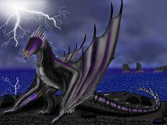 Approaching Thunderstorm (Skrill dragon) by Molp-rus.deviantart.com on @DeviantArt