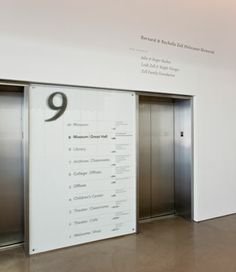 spertus institute graphics and wayfinding, chicago by studio/lab