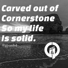 My life is carved out of a cornerstone so my life is solid. The foundation is steady ready to ramp up. LET'S GO! #gpunltd  #gpunltdlife #motivation #letsgetit