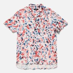 Kaleidoscope Woven Shirt