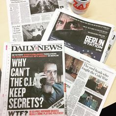 @richardcarmitage : @berlin_station @epix So I think we did ok guys. Everyone here at Epix in NYC is gushing with excitement over last nights premiere. [17 October 2016]