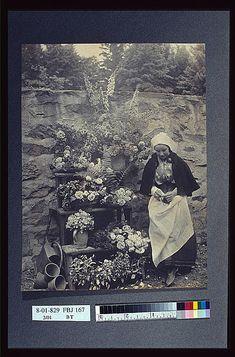 Dutch flower seller