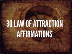 I have listed 30 powerful Law Of Attraction affirmations which have the power when said with total belief, can bring great wealth into your life. The wealth of money, happiness, love, joy and health and much more.