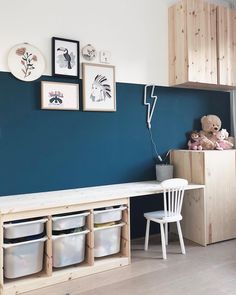 10 ways to hack the Ikea Ivar cabinet into something special for the kids room Playroom Decor, Bedroom Decor, Bedroom Lighting, Bedroom Lamps, Wall Decor Kids Room, Ikea Kids Playroom, Kids Room Lighting, Kid Decor, Wall Lamps