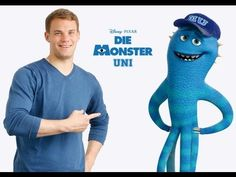 OMG!!!! Manuel voiced as this character in Monsters University (in German).!!!! ❤️