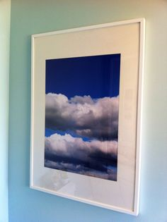 cloud art inspired by amber interiors 2499 ikea ribba frame 899 20x30 costco photo enlargement