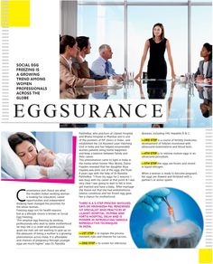 Social Egg Freezing article of Dr. Nandita Palshetkar featured in Grazia Magazine - October issue