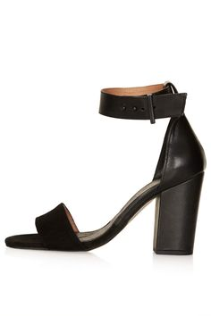 Black toe strap sandals  See what I'm loving on Topshop for iOS