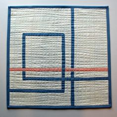 A Quilter's Table: Pantone Meets Bias Tape