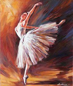 Ballet Dancer Anastassia Art