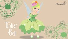 No-Disney Young Princess ~ TinkerBell by miss-lollyx-33