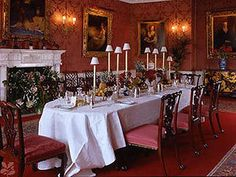 Polesden Lacey Dining Room