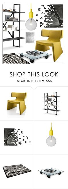 """""""Modern Home Decor"""" by lovethesign-eu ❤ liked on Polyvore featuring interior, interiors, interior design, home, home decor, interior decorating, Linfa Design, FontanaArte, modern and Home"""