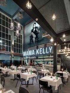 MaMa Kelly Urban Bistro Restaurant by De Horeca Fabriek, The Hague – Netherlands » Retail Design Blog