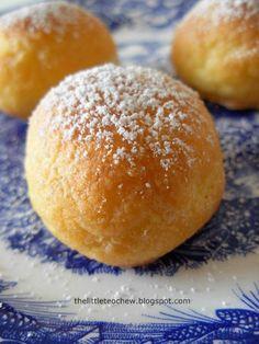 Choux pastry - cream puffs