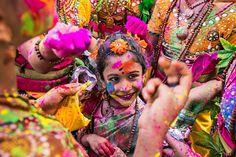 Holi celebrations in Kolkata