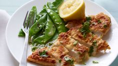 Lemon Chicken with Snow Peas. Ready in 25 minutes. Serves 4. Total Cost: $9.29