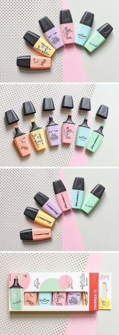 These mini pastel Stabilo highlighters are the cutest thing I've ever seen. They would be perfect for the bullet journal! Just love the colors and they aren't distracting! #ad #stationery #pastel #stabilo #bulletjournal #bujo