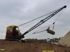 Bucyrus Erie, Crawler Crane, Utility Pole