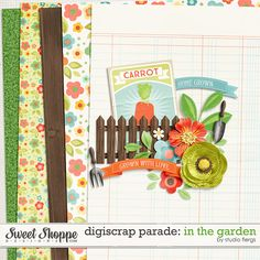 FREE May 2015 Digiscrap Parade Freebies - In the garden : Studio Flergs [ 45 the participating designers ] Digital Scrapbooking Freebies, Digital Scrapbook Paper, Digital Stamps, Digital Paper Free, Free Paper, Project Life Freebies, Scrapbook Templates, Scrapbook Journal, Kit