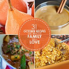 October, with its gusts of golden leaves and brisk weather, officially ushers in the fall season and ends with all of the festive treats of Halloween. Fall is the time for roasting, braising, and slow cooking. #Halloween #Healthy #Recipes #CleanEating