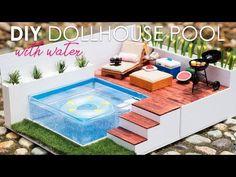 DIY miniature swimming pool