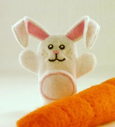 This bouncy little fella comes with his own carrot!