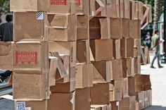 Family Promise Cardboard City: A Homeless Experience by Colin Barnes, via Behance