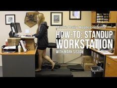 ▶ How-To: Standup Workstation with Mark Sisson