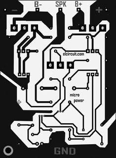 Power Amplifier PCB