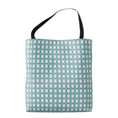 Cottage-Diamonds-River-Blue-Totes-Shoulder-Bags Tote Bag - baby gifts child new born gift idea diy cyo special unique design