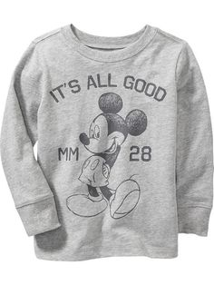 Disney© Mickey Mouse Tee for Baby Style Outfits, Boy Outfits, Swag Style, Style Hipster, Disney World Shirts, Baby Mouse, Kids Fashion Boy, Disney Merchandise, Niece And Nephew