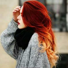 Image via We Heart It #beautiful #girl #grunge #hair #hairstyle #lips #red #orante